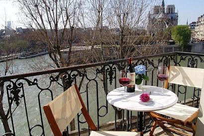 Quai d'Orléans Serviced Apartment, Marais