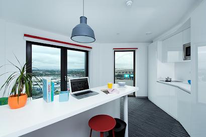 Studios in Apex House in Wembley